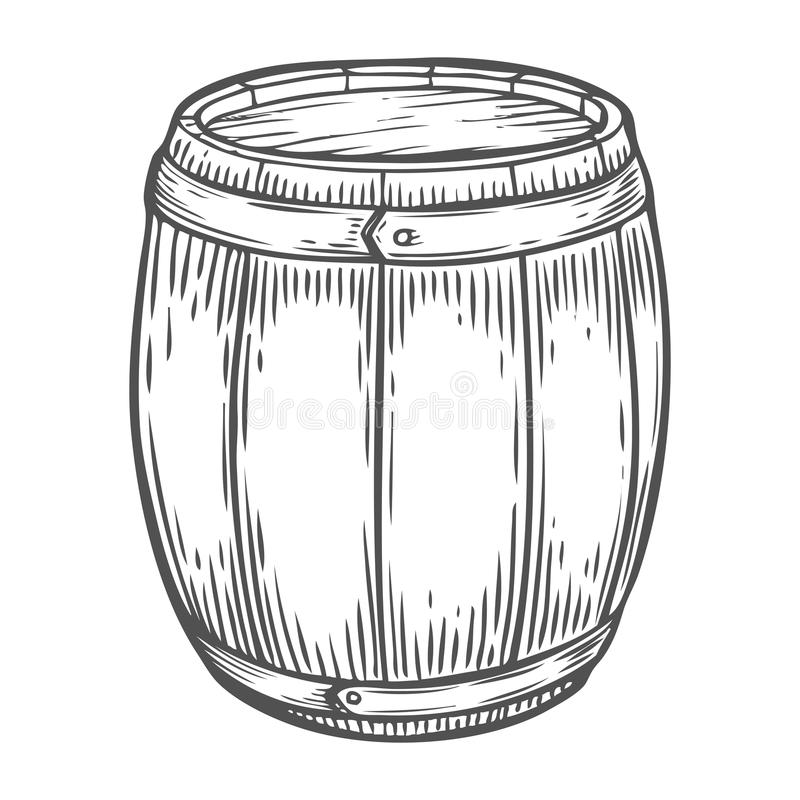 Whiskey Barrel Stock Illustrations.