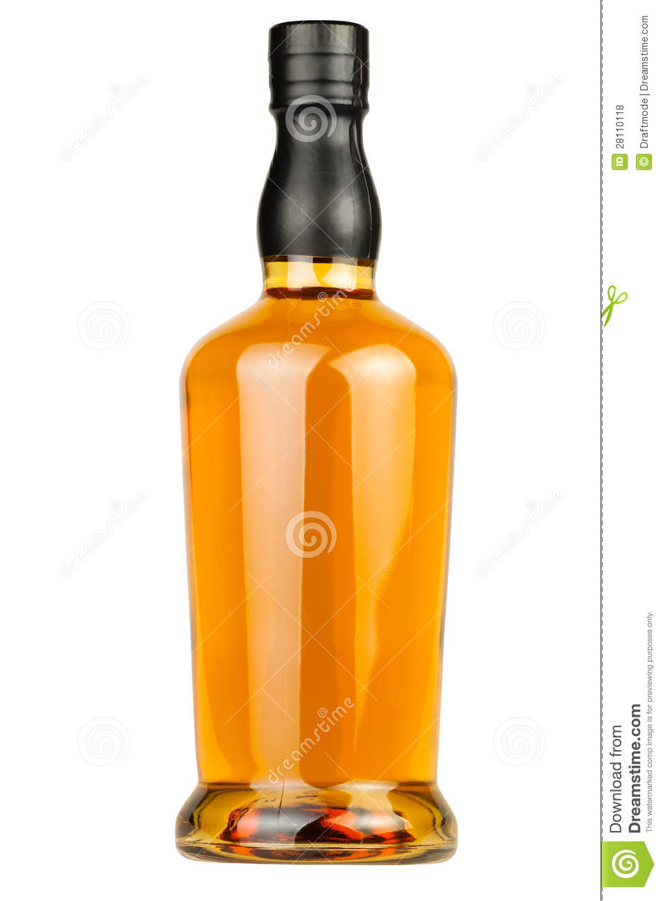 Whiskey Bottle Free Clipart.