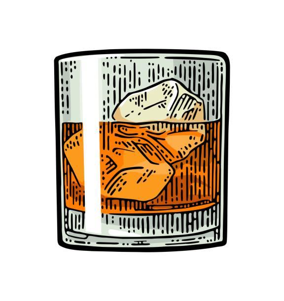 Best Bourbon Whiskey Illustrations, Royalty.