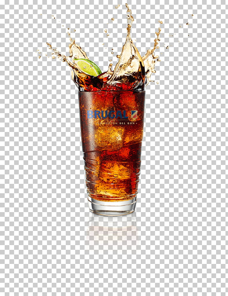Whiskey Rum and Coke Cocktail Vodka, cuba PNG clipart.
