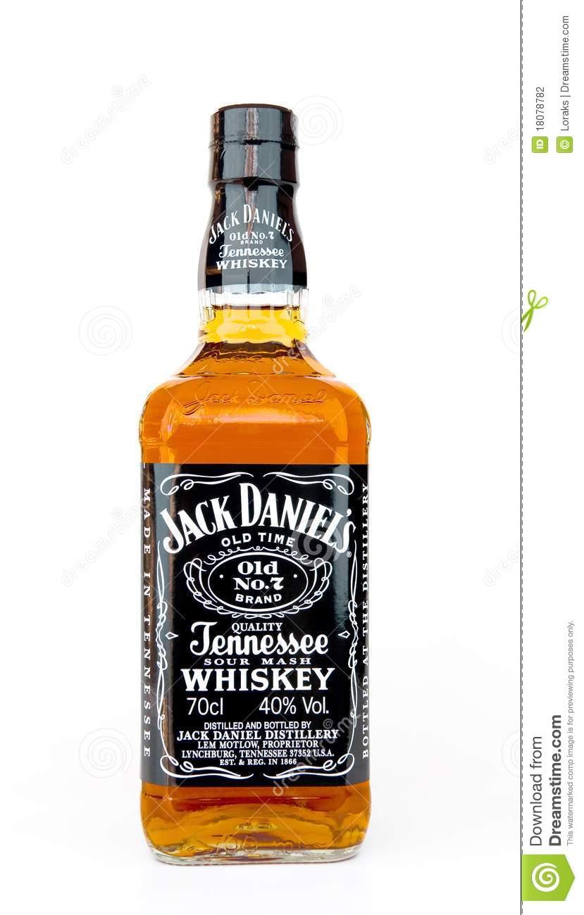 Jack daniels bottle clipart.