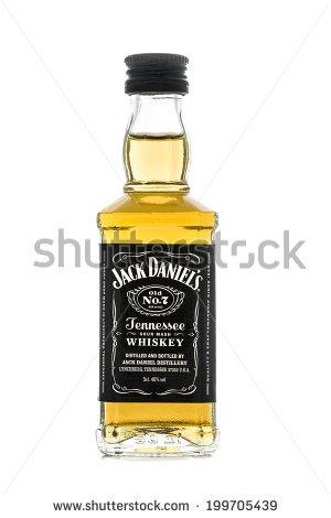 Jack Daniels Bottle Stock Photos, Royalty.