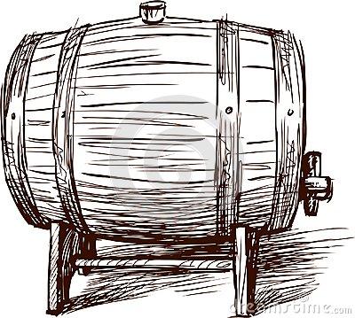 Whiskey Barrel Clipart.