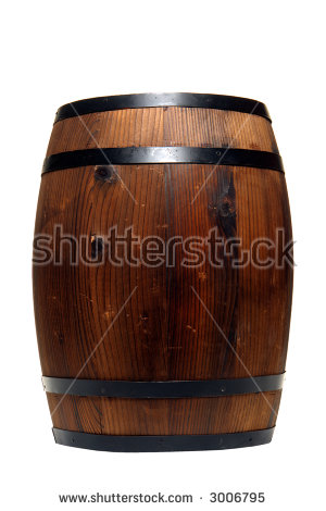 Whisky Barrel Stock Images, Royalty.