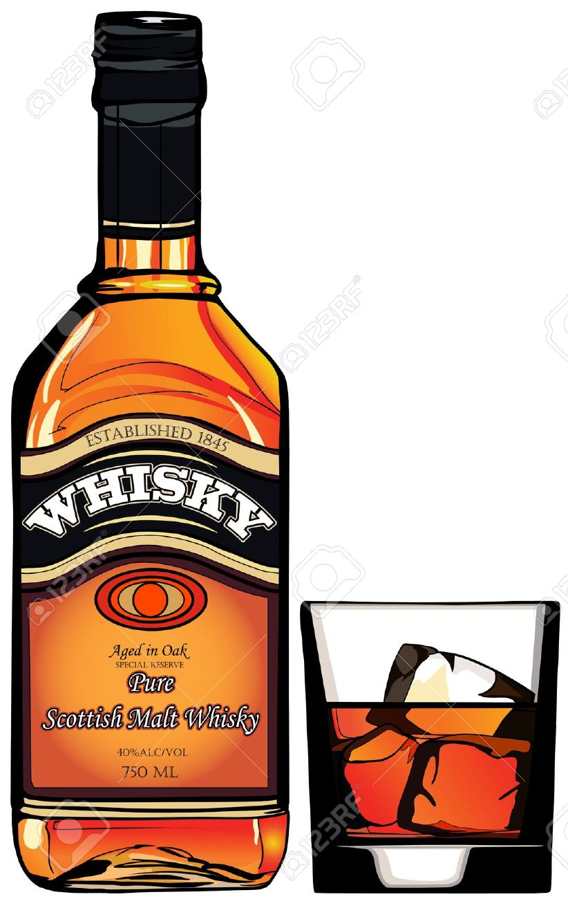 Whiskey clipart free.