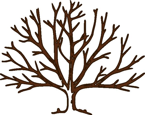 Bare Tree Silhouette Clip Art.