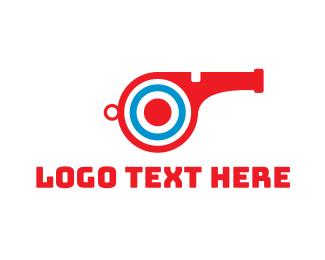 Target Whistle Logo.