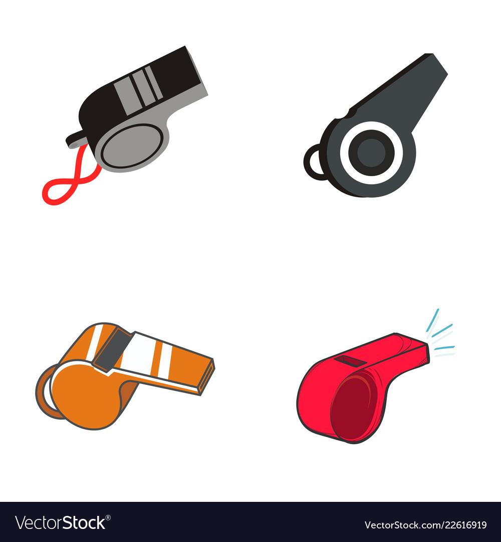 Whistle logo design.
