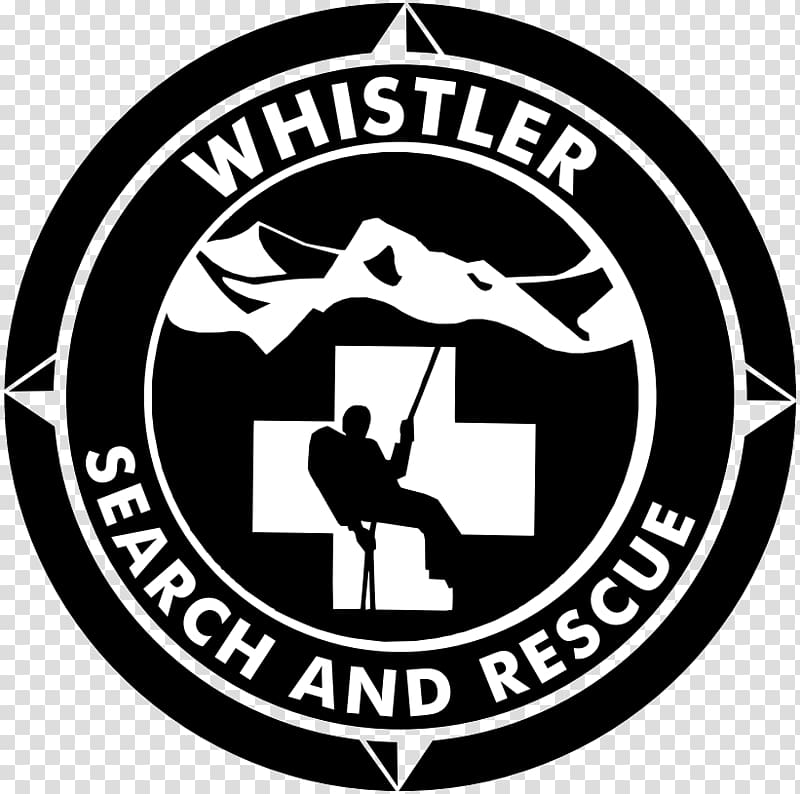 Whistler Search and Rescue Society Logo Organization Company.
