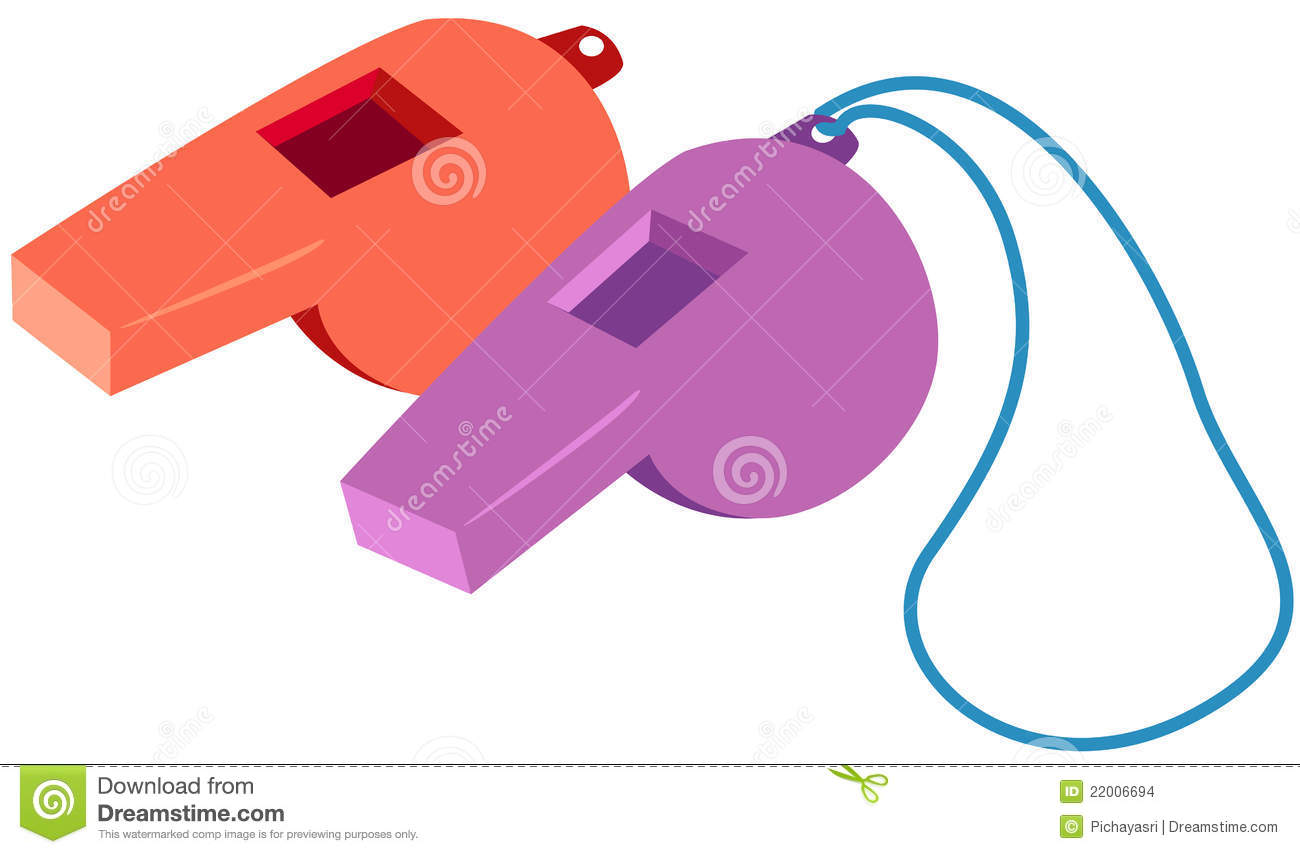 Whistles Stock Images.