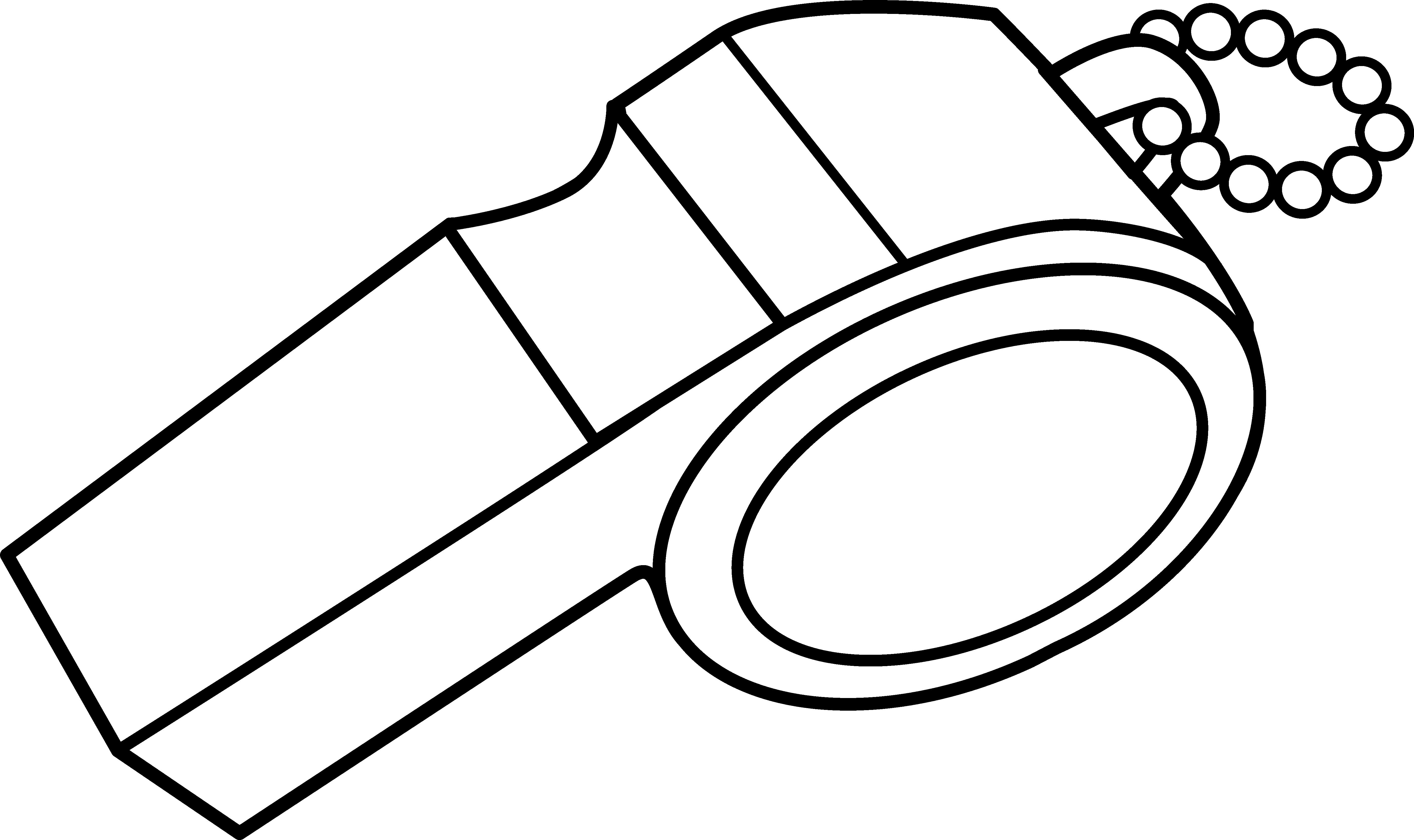 Whistle Coloring Page.