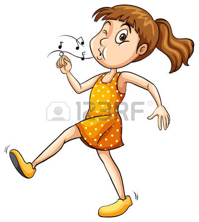 Whistling clipart #15
