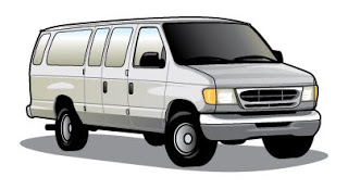 Passenger Van Clipart.