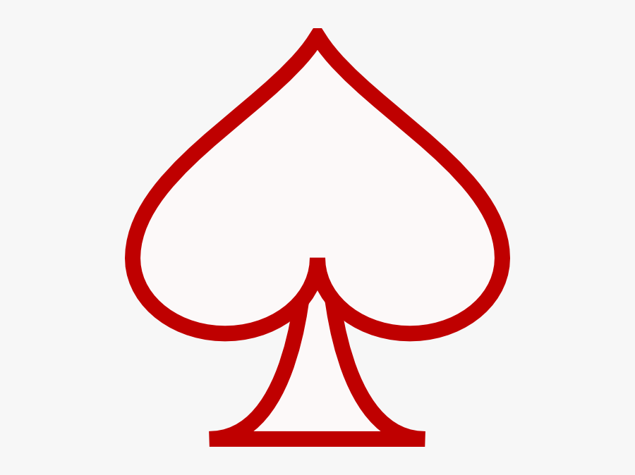 White Ace Of Spades Png , Free Transparent Clipart.