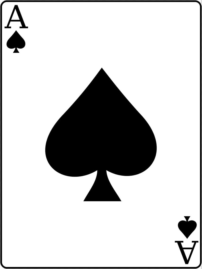 War Ace of spades Playing card, Ace Of Spades transparent.