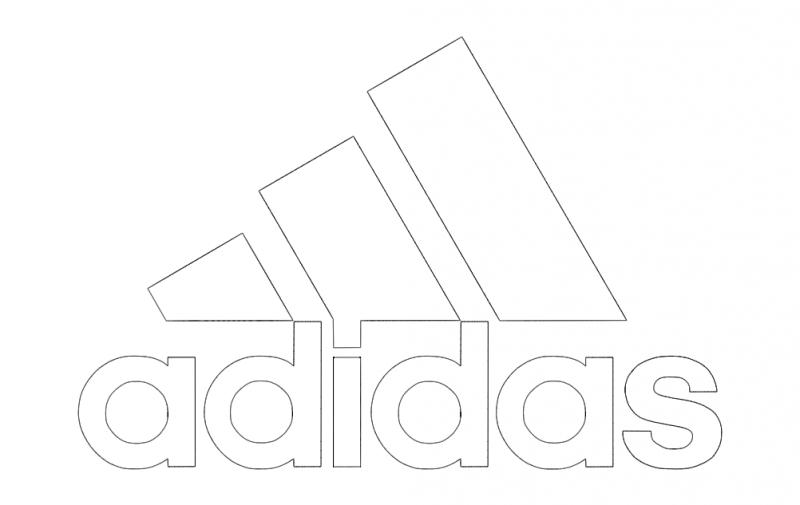 White Adidas Logo Png (+).