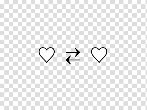 AESTHETIC S , two white hearts illustration transparent.