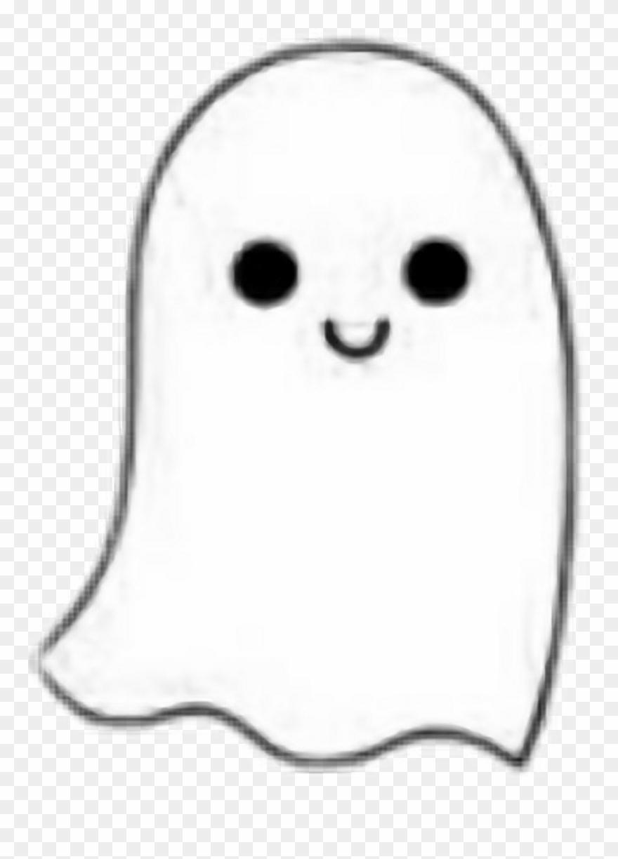white #ghost #cute #kawaii #black #halloween #aesthetic.