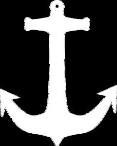 White Anchor Tiff Clip Art at Clker.com.