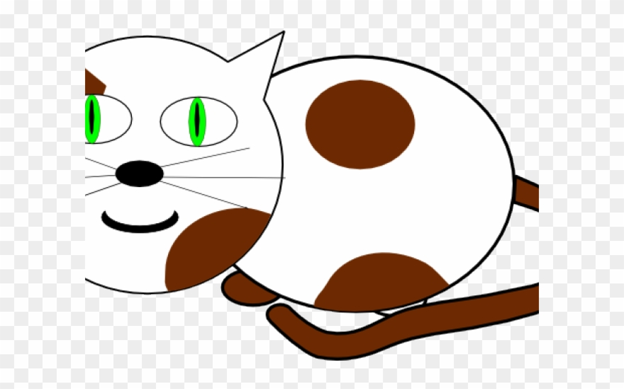 Kitten Clipart Cat Sat.