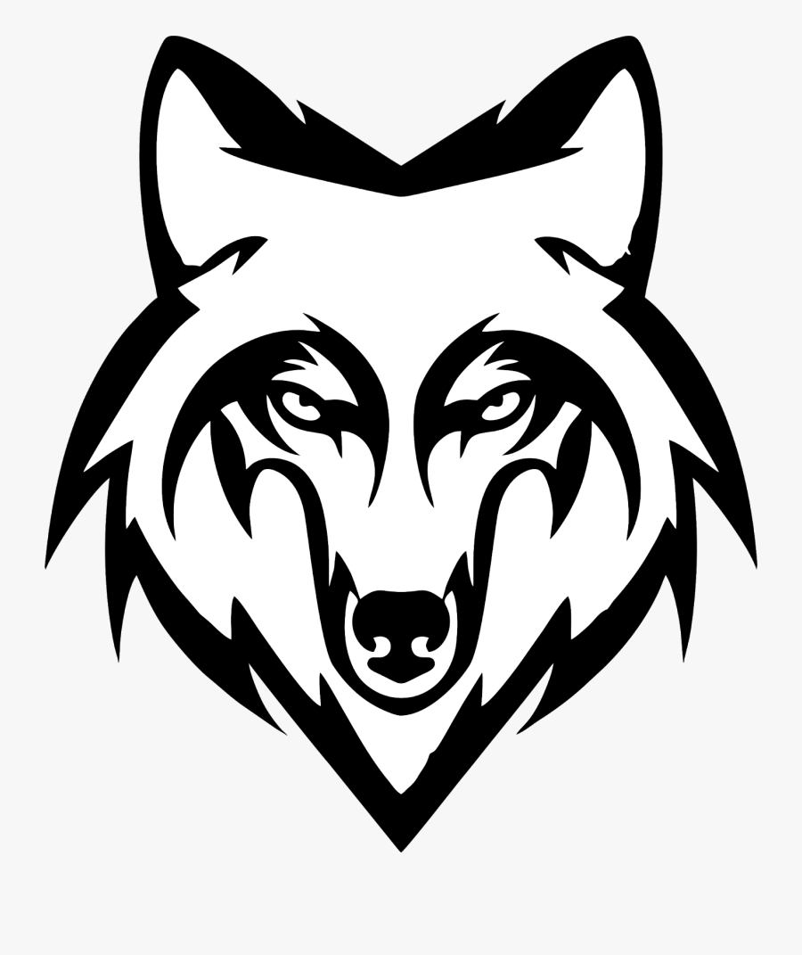 Vector Wolf Wolf Black And White Png.