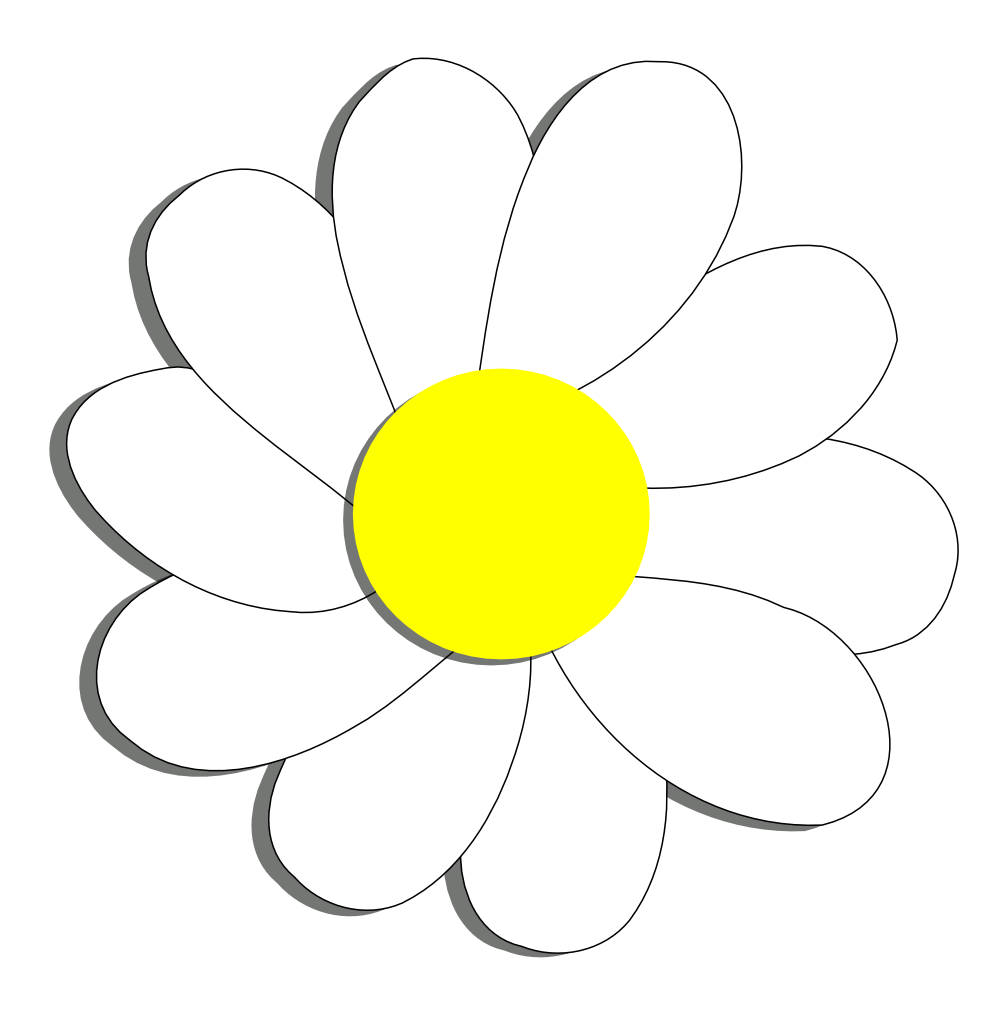 Yellow and white flowers clipart 20 free Cliparts ...