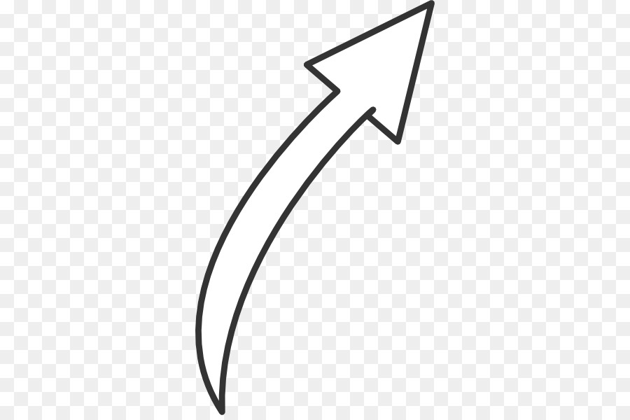 Line Art Arrow clipart.