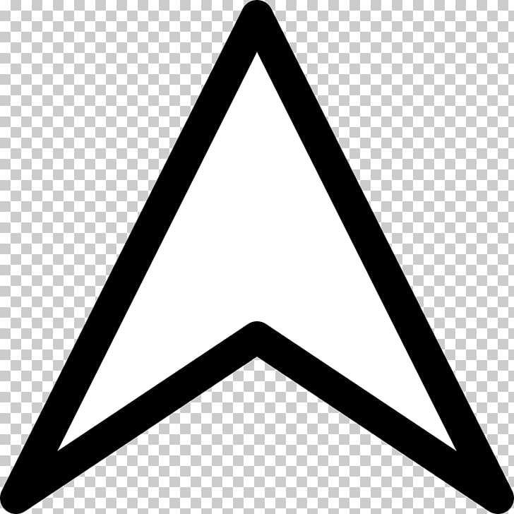 Triangle Arrow Up, white arrow logo PNG clipart.