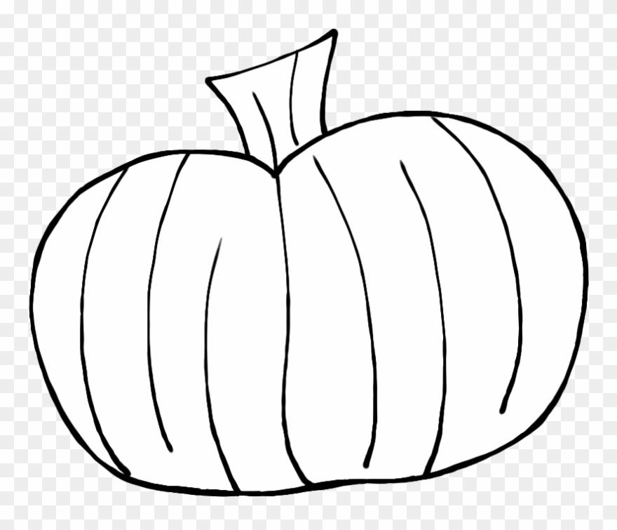Pumpkin Clip Art Images Black And White.