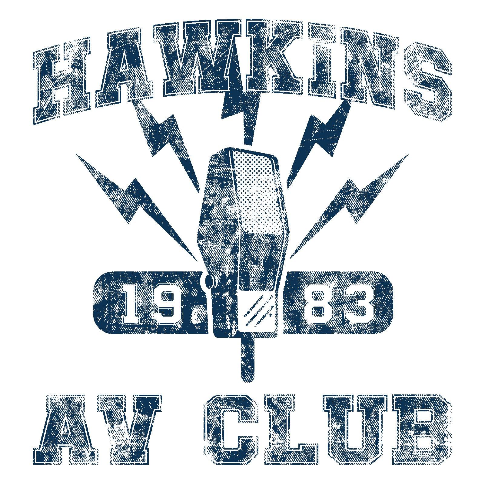 Hawkins AV Club: Funny Graphic T Shirt.