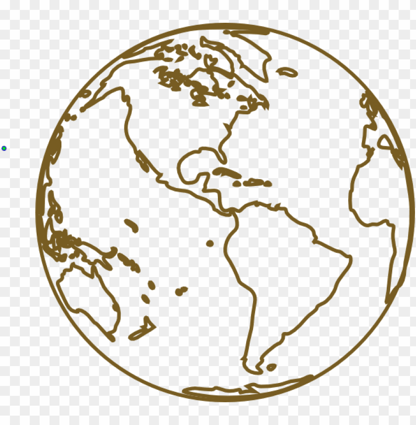 free download earth black and white transparent clipart.