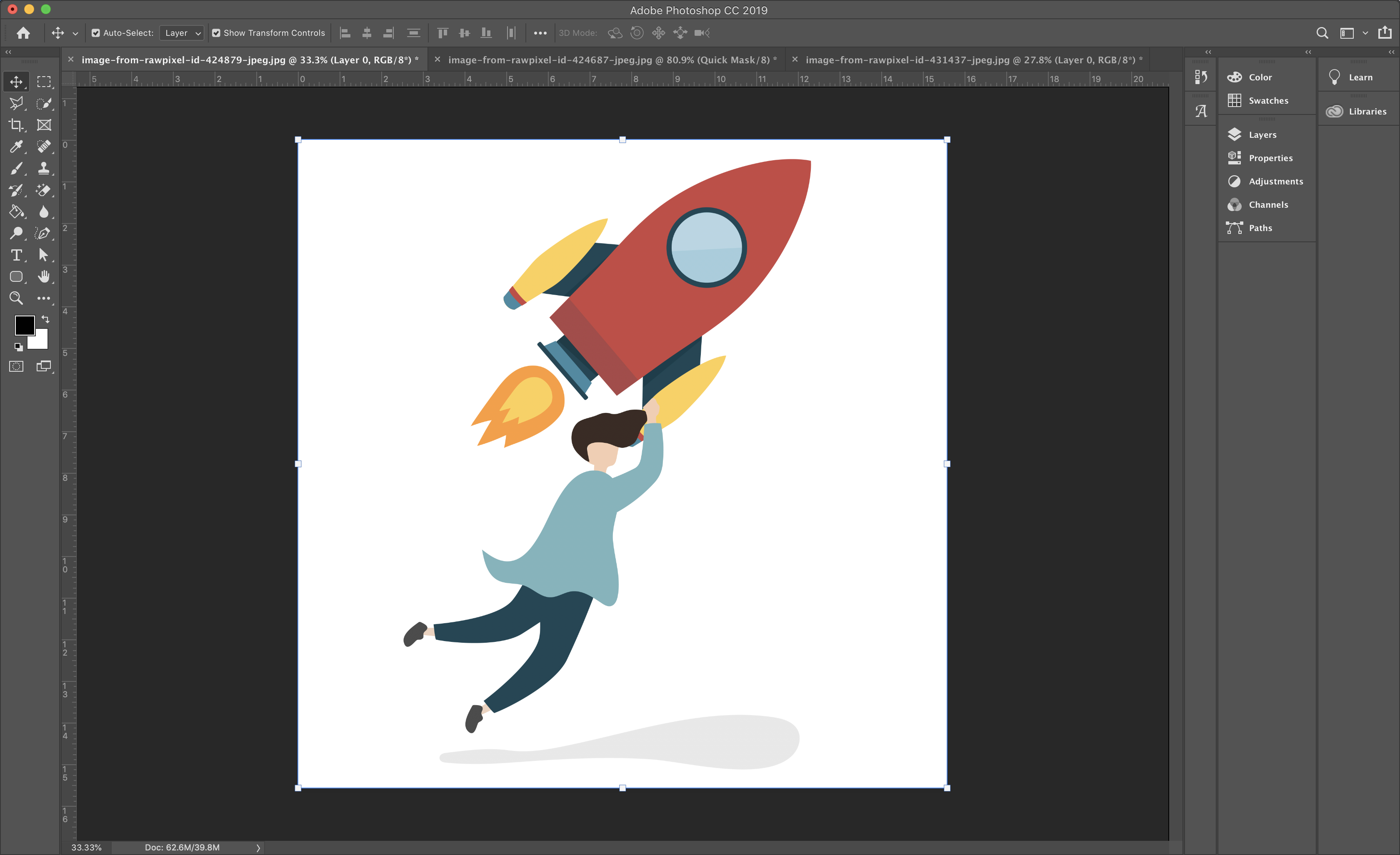 How to Remove the White Background from an Image to Make it.