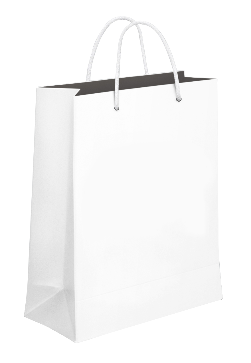 Shopping Bags PNG Black And White Transparent Shopping Bags Black.