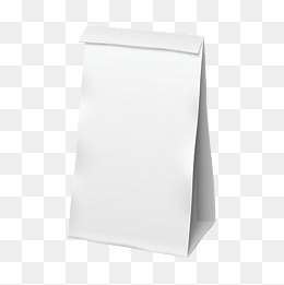 White Paper Bag Png, Vectors, PSD, And C #135950.