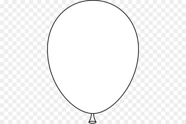 black and white balloons clip art free.