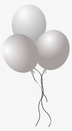 White Balloons Png PNG Images.