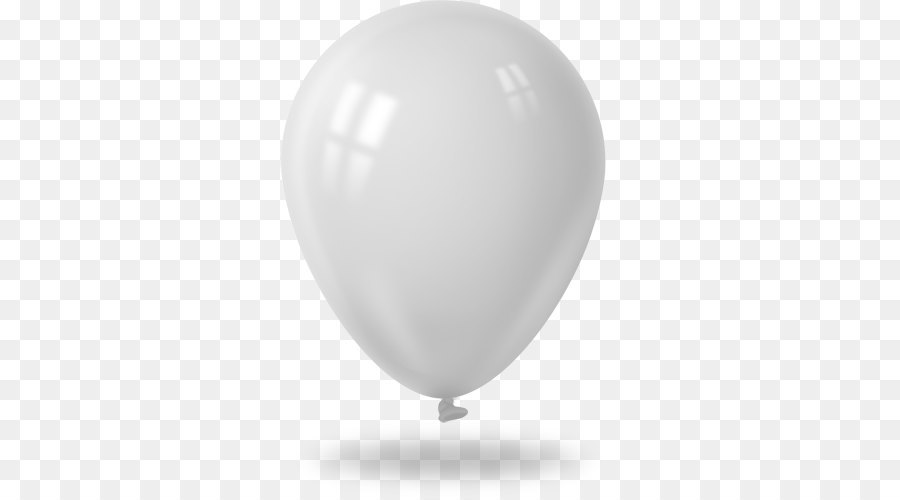 White Balloon png download.