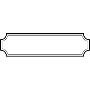 Banner Clipart Black And White Png.