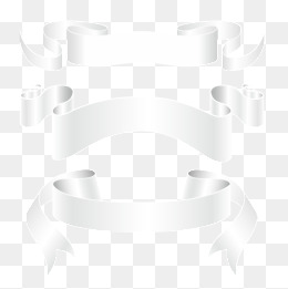 White Banner Png, Vector, PSD, and Clipart With Transparent.