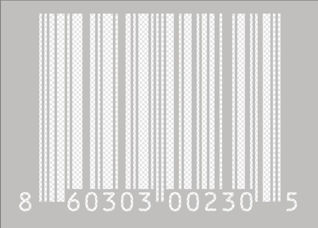 How to Make Barcode Transparent.