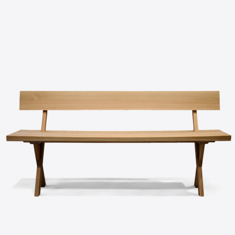 ILSE CRAWFORD TOUCH BENCH OAK.