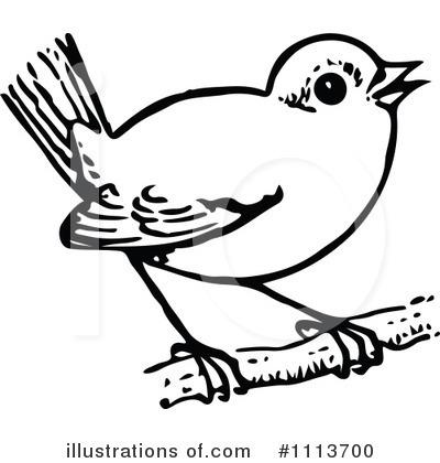 White Bird Clipart.