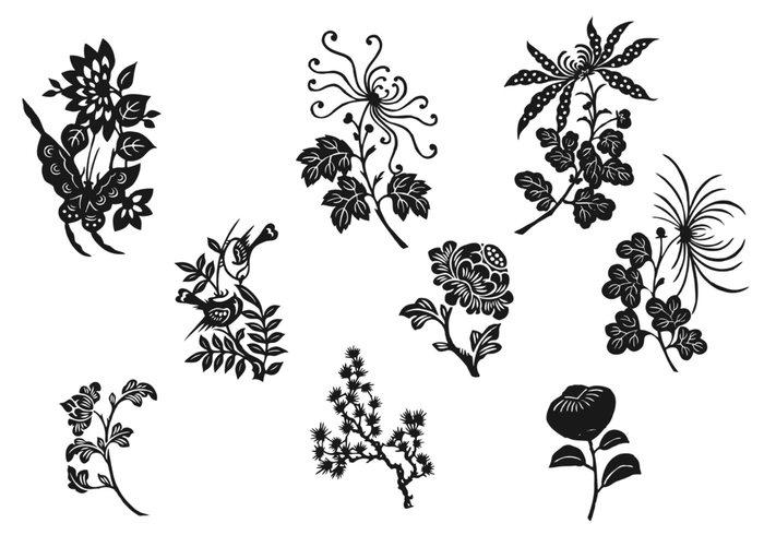 Black And White Flower Photos Free.