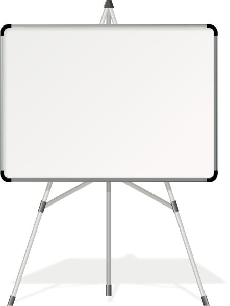 white board.