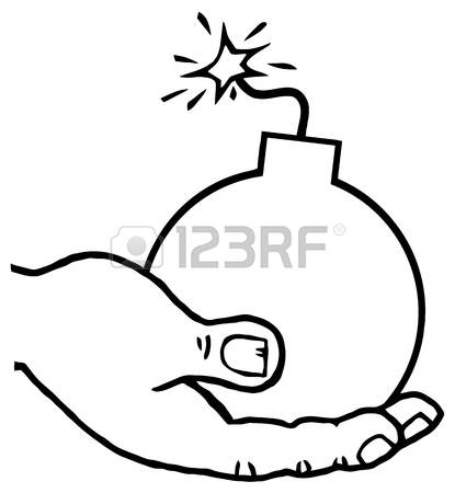 237 Holding Bomb Stock Vector Illustration And Royalty Free.