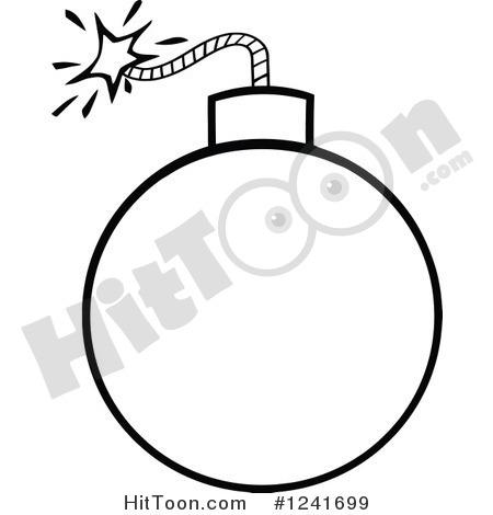 Bomb Black Clipart.