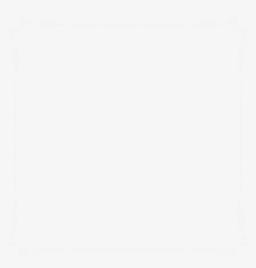 White Square Border Png PNG Image.