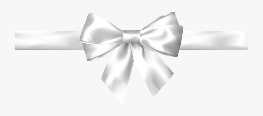 White Bow Clipart , Png Download.