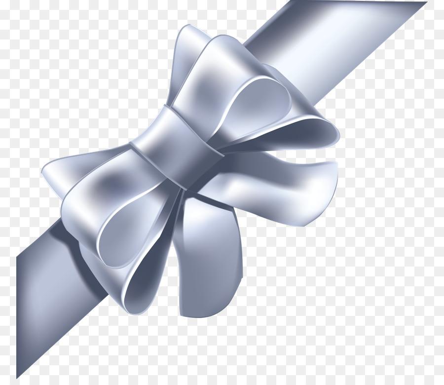 white ribbon bow vector clipart Ribbon Clip art clipart.
