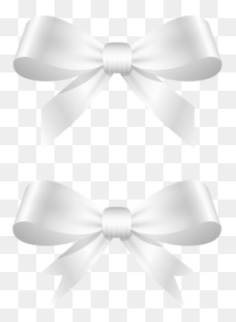 White Bow Png, Vector, PSD, and Clipart With Transparent Background.